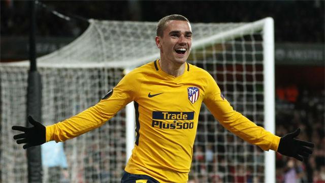 El Atlético sale vivo del Emirates Stadium gracias al gol de Griezmann