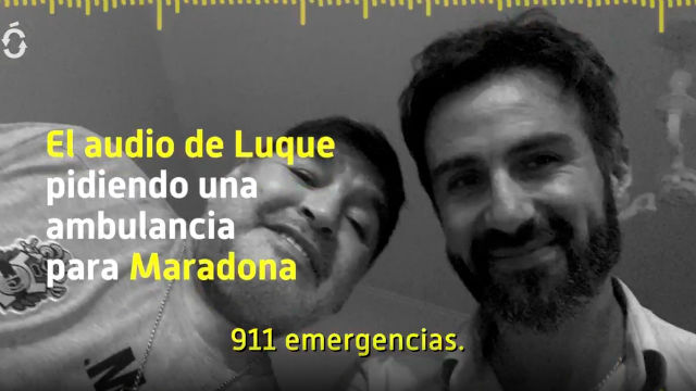El audio de la petición de la ambulancia para Maradona de Leopoldo Luque
