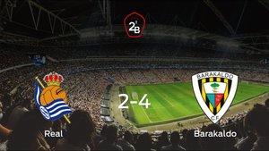 El Barakaldo deja sin sumar puntos a la Real Sociedad B (2-4)