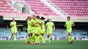 El Barça celebró los goles que supusieron la remontada deseada