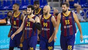 El Barça perdió la final de la Lliga Catalana por sus propios errores