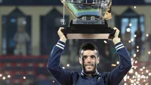 Bautista logró su segundo torneo del año en Dubai