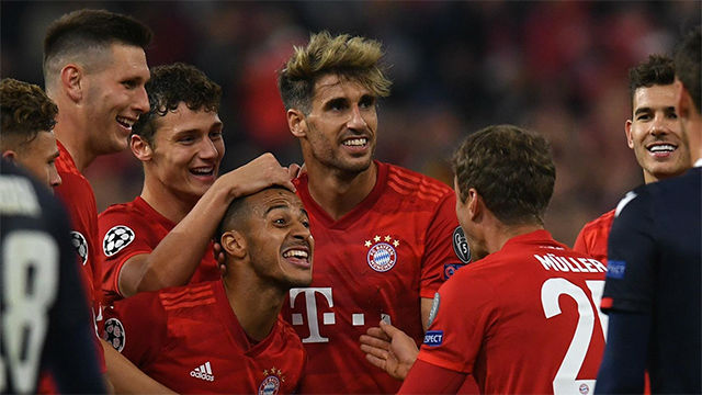 El Bayern de Munich golea en casa al Estrella Roja