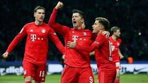 El Bayern también lidera la clasificación del reparto televisivo.
