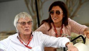 Bernie Ecclestone, padre por cuarta vez a sus 89 años