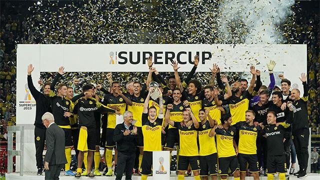 El Borussia Dortmund conquista la Supercopa ante el Bayern
