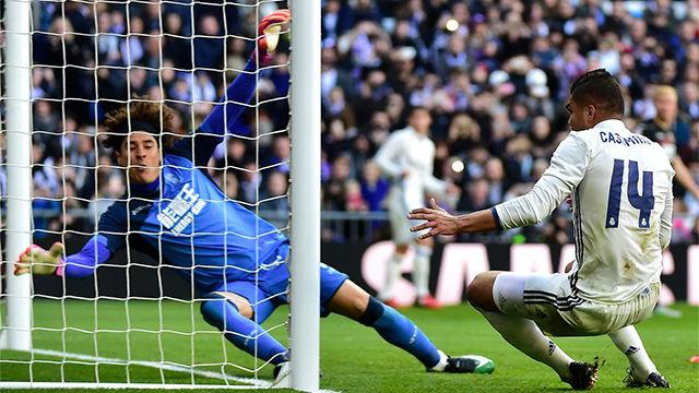 Casemiro marcó su primer gol de la temporada - Resumen Real Madrid - Granada