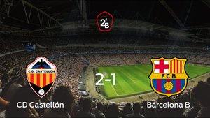 El Castellón se lleva tres puntos tras derrotar 2-1 al Barcelona B