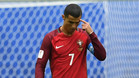 Cristiano Ronaldo durante un partido de Portugal en la Copa Confederaciones