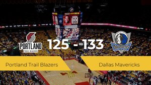 Dallas Mavericks logra vencer a Portland Trail Blazers en el Moda Center (125-133)