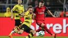 El Dortmund aleja al Frankfurt de los puestos de Champions