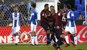 El Eibar y el Leganés juegan en Ipurúa