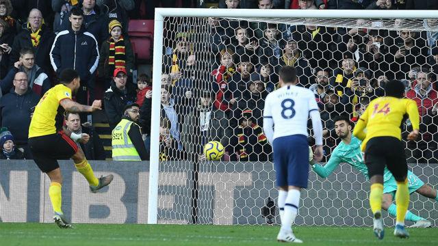 Empate y gracias para el Tottenham de Mourinho