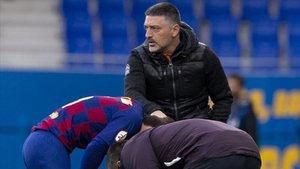 El equipo de García Pimienta jugará por el ascenso