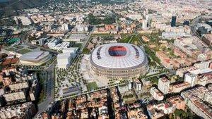 El Espai Barça será gestionado por un sistema creado por el club y el BSC