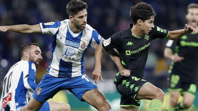 El Espanyol logra un trabajado punto ante el Betis