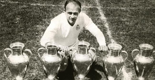Final Champions Real Madrid - Eintracht Frankfurt (7-3). 1959 - 1960