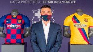 García Pimienta seguirá entrenando al Barça B hasta junio del 2021