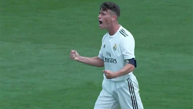 El golazo de Antonio Blanco desde medio campo que elimina al Braça de la Copa del Rey