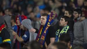 La grada del Camp Nou