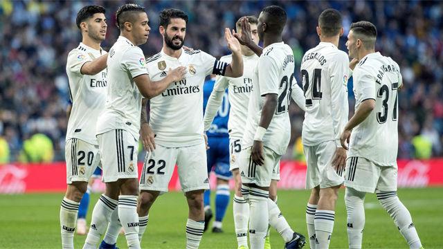 Isco y Asensio, protagonistas en la goleada ante el Melilla