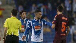Javi Fuego lo juega todo con Quique en el Espanyol
