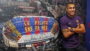 Jeison Murillo, último fichaje del FC Barcelona