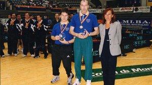 Jordi Morales y Joan Romeu ya levantaban Copas hace más de 15 años