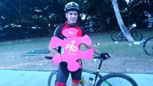 Jordi Rigueiro pedaleó por la PID Foundation