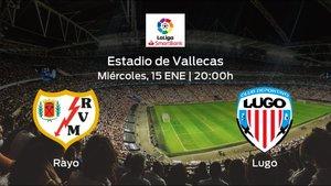 Jornada 23 de la Segunda División: previa del duelo Rayo Vallecano - Lugo