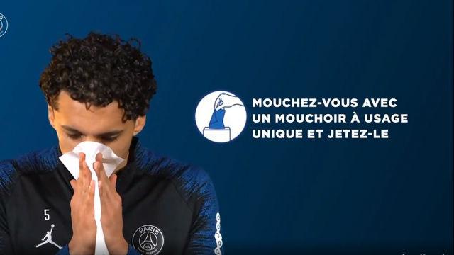 Las recomendaciones higiénicas del PSG para frenar el contagio del Coronavirus