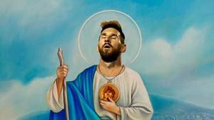 Leo Messi, en uno de los memes