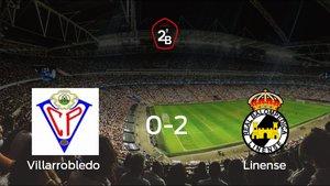 El Linense gana 0-2 en el feudo del Villarrobledo