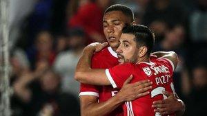 Los jugadores del Benfica no pueden fallar