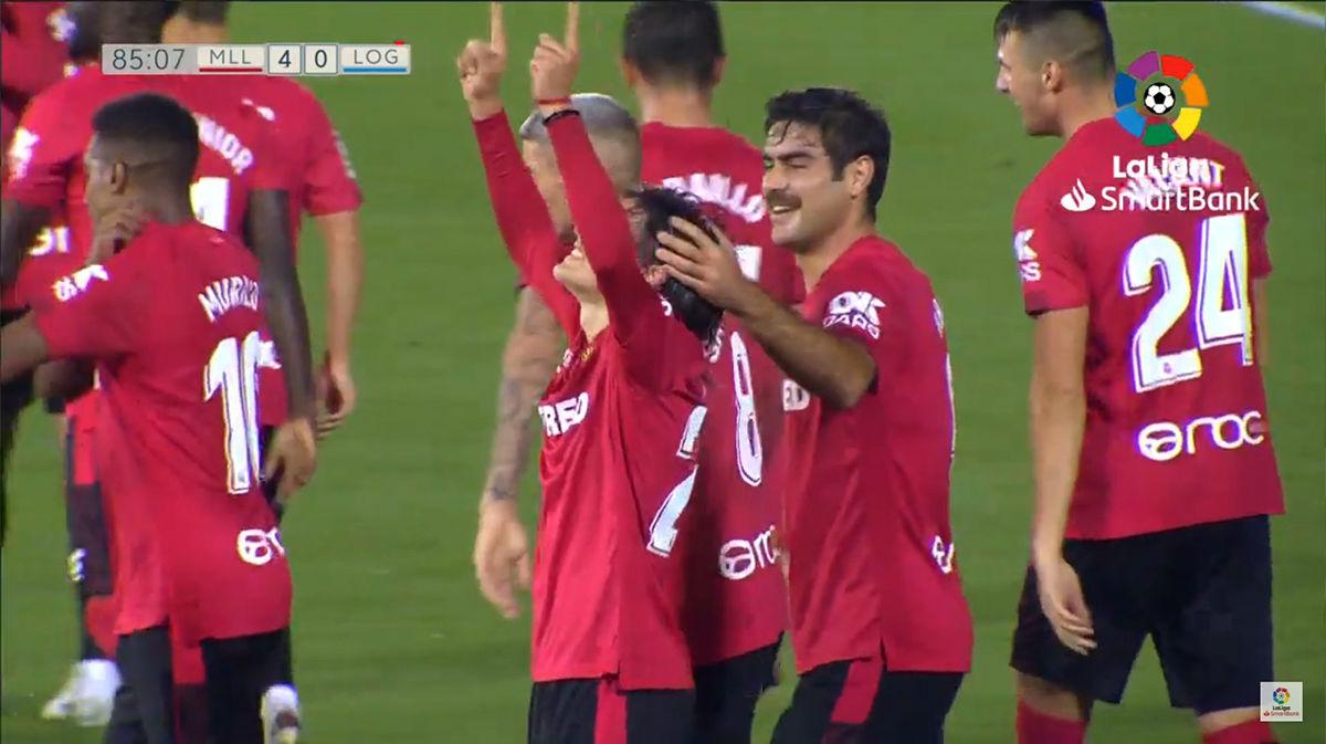 Luka Romero se estrena como goleador con el primer equipo del Mallorca: ¡Qué zurdazo!