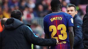 Malas noticias para Umtiti que estará dos meses de baja