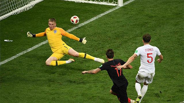 Mandzukic remontó y envió a Croacia a la final