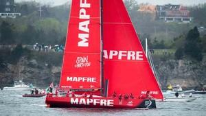 El Mapfre en una imagen de archivo participando en la Volvo Ocean Race