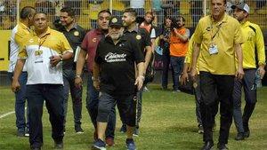 Maradona es feliz con el Dorados