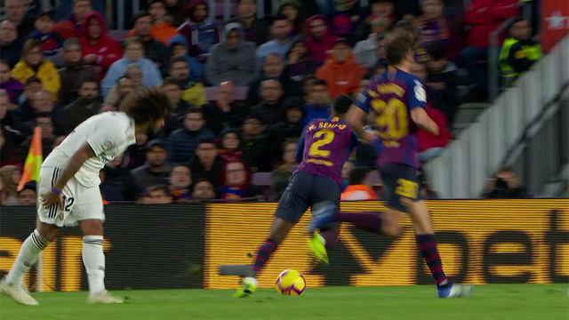 Marcelo forzó para jugar El Clásico y no pudo terminarlo