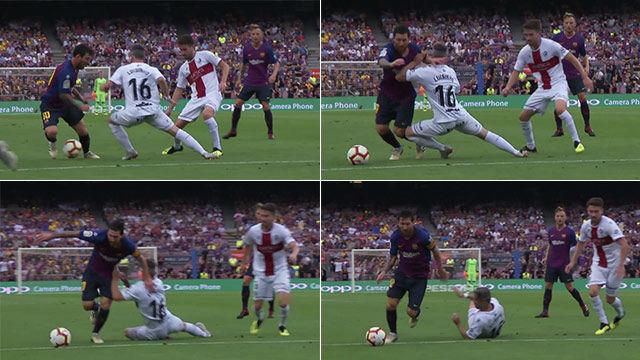 Messi resucitó el regate a Boateng y marcó el empate a uno - LaLiga