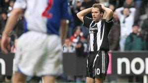 Michael Owen se lamenta de su paso por el Newcastle