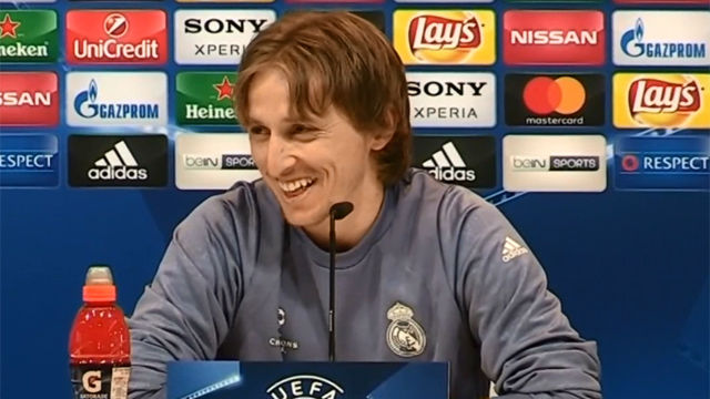 Modric: ¡Gracias a Dios no juega Maradona!