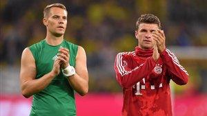 Neuer y Müller, dos leyendas del Bayern