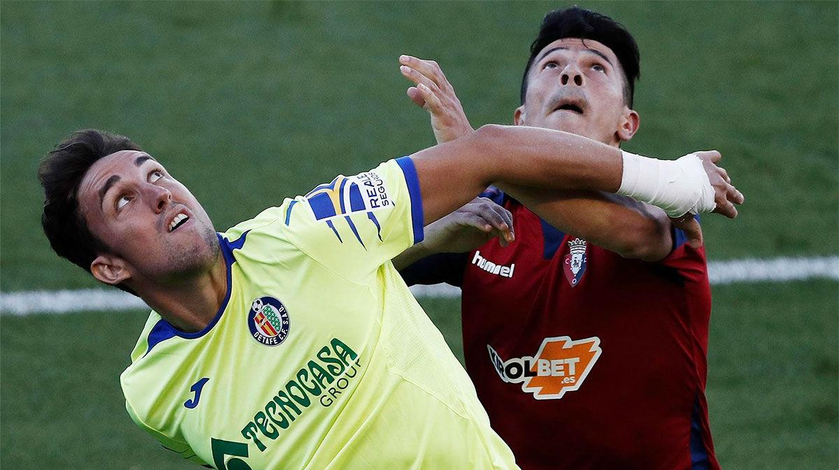 Partido sin goles entre Osasuna y Getafe