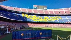 El patrocinio de Rakuten en el Camp Nou
