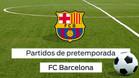 Pretemporada del FC Barcelona
