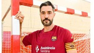 Raúl Entrerríos será el capitán del Barça en su última temporada en activo