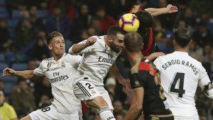 El Real Madrid volvió a sufrir ante el Rayo