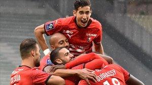 El Rennes arrebató el liderato de la Ligue 1 al Saint-Étienne